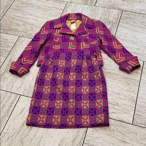 Christian LaCroix vintage wool suit (42)